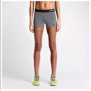 Grey Nike Pros